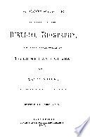 A COMPLETE ALPHABETICALL ARRANGED BIBLICAL BIOGRAPHY