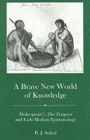 A Brave New World of Knowledge Pdf/ePub eBook
