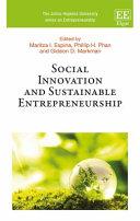 Social Innovation and Sustainable Entrepreneurship