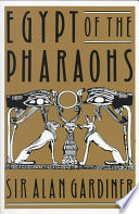 Cover of Egypt of the Pharaohs