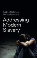 Cover of Addressing Modern Slavery