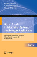 Global Trends in Information Systems and Software Applications