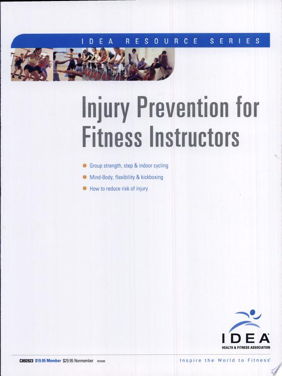 Injury Prevention for Fitness Instructors
