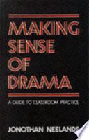 Making Sense of Drama Book