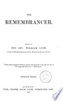 The Remembrancer   6th  Book