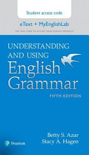 Understanding and Using English Grammar Etext   Myenglishlab