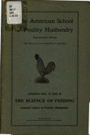 General Course in Poultry Husbandry Book