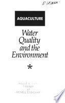 Water Quality and the Environment