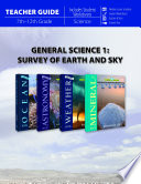 General Science 1 Survey Of Earth And Sky Teacher Guide