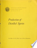 Production Of Distilled Spirits Book PDF