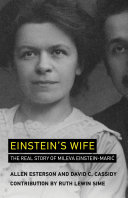 Einstein's Wife [Pdf/ePub] eBook