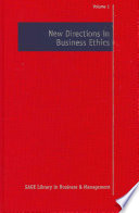 New Directions in Business Ethics