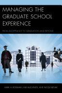 Managing the Graduate School Experience