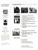 Forest History Today
