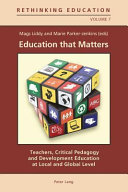 Pdf Education that Matters