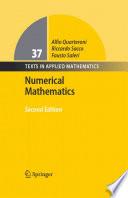 Numerical Mathematics Book PDF