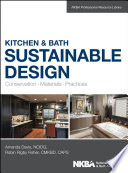 Kitchen And Bath Sustainable Design Book PDF