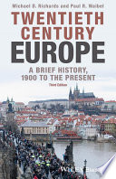 Twentieth Century Europe Book