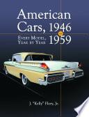 American Cars 1946 1959