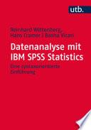 Datenanalyse mit IBM SPSS Statistics