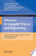 Advances in Computer Science and Engineering Book