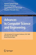 Advances in Computer Science and Engineering