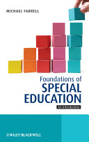 Foundations of Special Education Book PDF