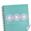 The Baby's Eat, Sleep, and Poop Journal, Aqua