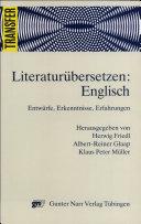 Literaturübersetzen