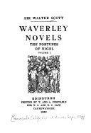 Waverley Novels: The fortunes of Nigel