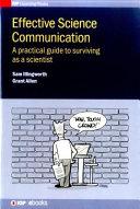 Effective Science Communication