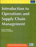 Introduction to Operations and Supply Chain Management Book