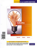 Calculus for Business  Economics  Life Sciences and Social Sciences  Books a la Carte Edition