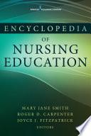 Encyclopedia Of Nursing Education