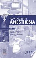 Advances in Anesthesia, E-Book