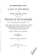 Collections Of The New Hampshire Historical Society