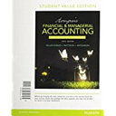 Horngren s Financial   Managerial Accounting  the Financial Chapters   Myaccountinglab With Pearson Etext Access Card