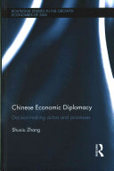Chinese Economic Diplomacy Book PDF