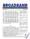 Broadband Monthly Newsletter September 2010