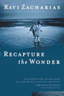 Recapture the Wonder Book