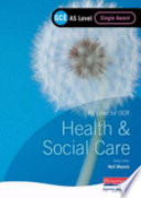 Gce As Level Health And Social Care Single Award Book For Ocr