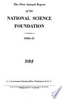 Annual Report of the National Science Foundation