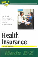 Health Insurance Made E Z Book