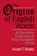 Pdf The Origins of English Words