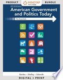 American Government and Politics Today + PAC LMS Intg MindTap Political Science Access Card