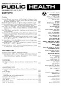 American Journal of Public Health Book