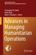 Advances in Managing Humanitarian Operations Book