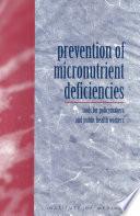 Prevention of Micronutrient Deficiencies Book