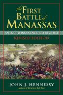 Pdf The First Battle of Manassas