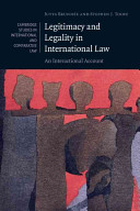 Cover of Legitimacy and Legality in International Law